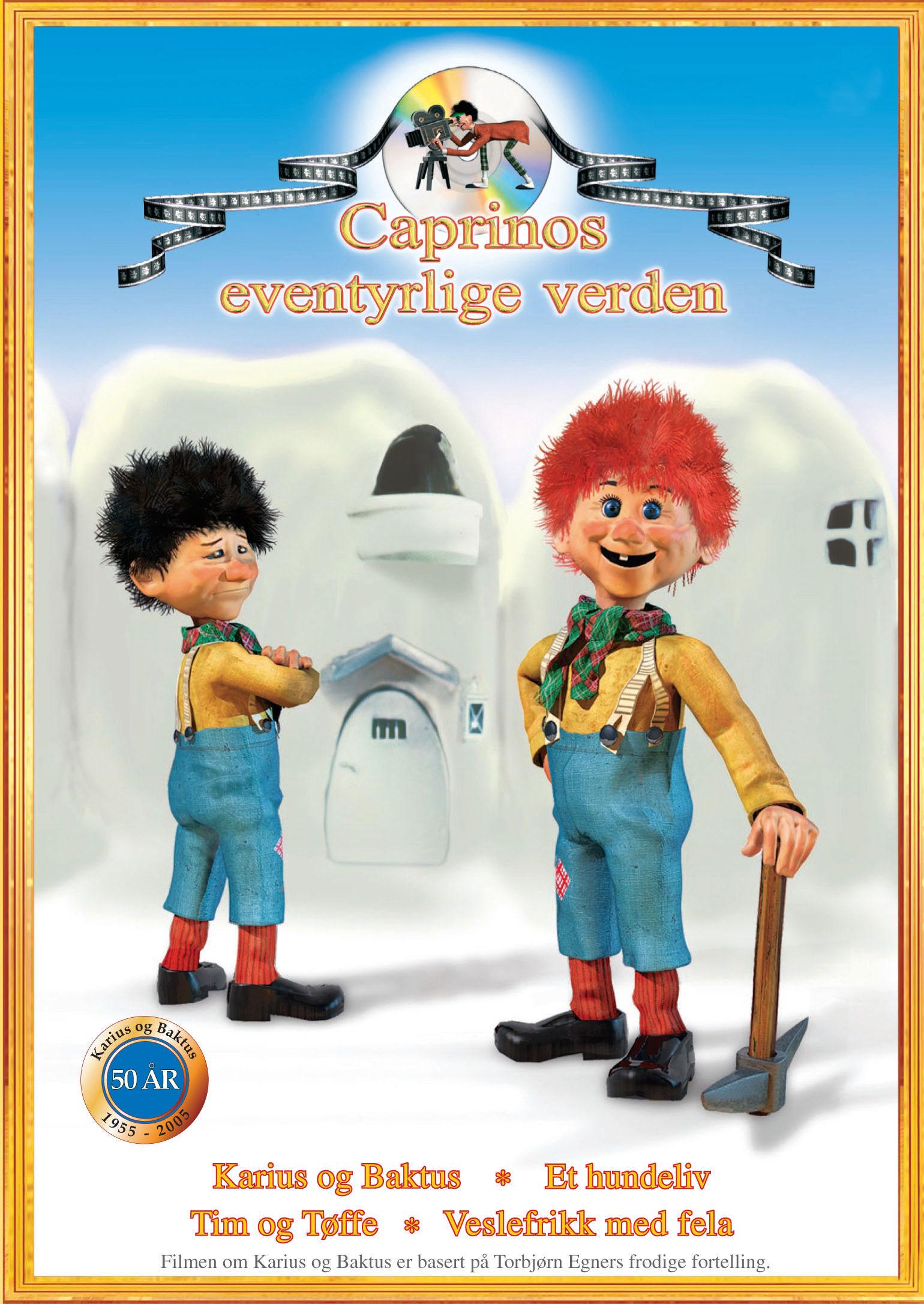 karius og baktus dvd