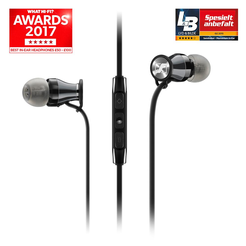 Sennheiser - Momentum In-Ear Black Chrome - IOS (HEADSET) 8edcf4e6a9