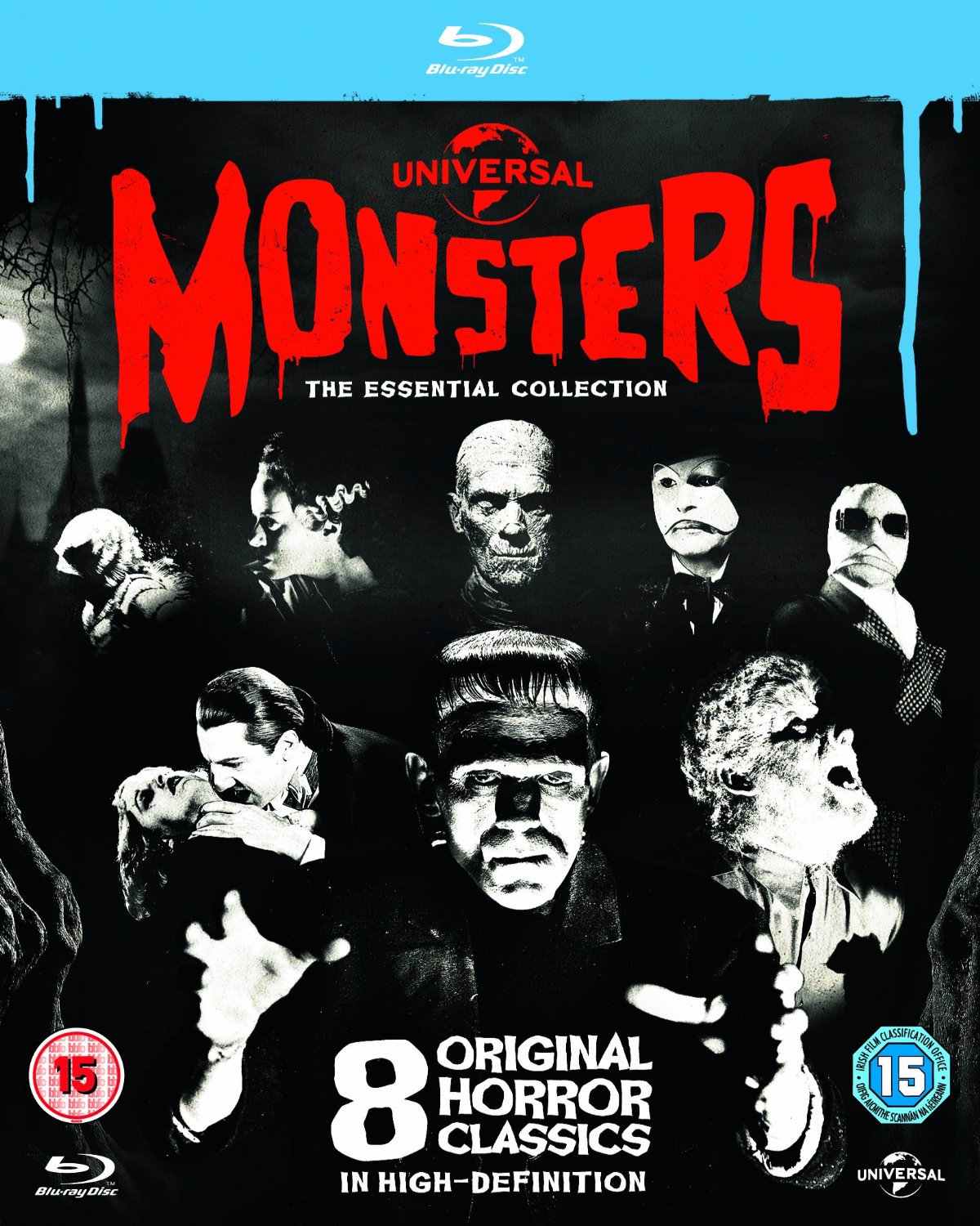 593ca7b5eeb1 Universal Classic Monsters - The Essential Collection (BLU-RAY)