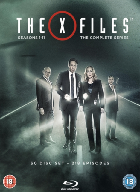The X-Files Complete Series 1993-2018 1080p Blu-ray AVC DTS-HD MA 5.1- [NoGroup,jimsong & HDBEE] [2485 GB]