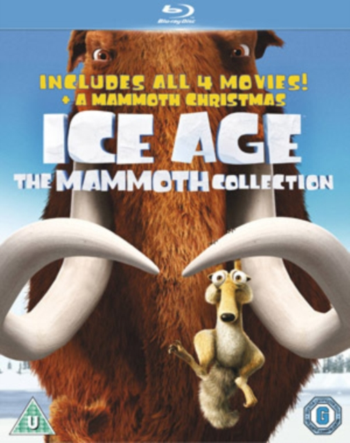 Ice Age A Mammoth Christmas.Ice Age 1 4 And Mammoth Christmas The Mammoth Pack Uk Import Blu Ray