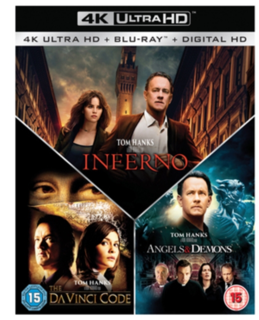 Da Vinci Code Angels And Demons Inferno Uk Import
