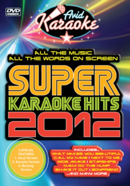 Super Karaoke Hits 2012 (UK-import) (DVD)