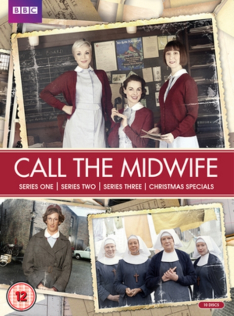 Call The Midwife Nytt Liv I East End Sesong 1 3 Uk Import Dvd