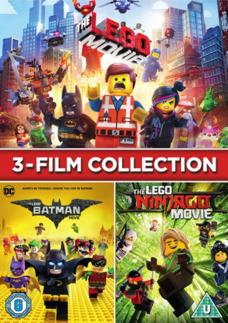 Lego 3 Film Collection Uk Import
