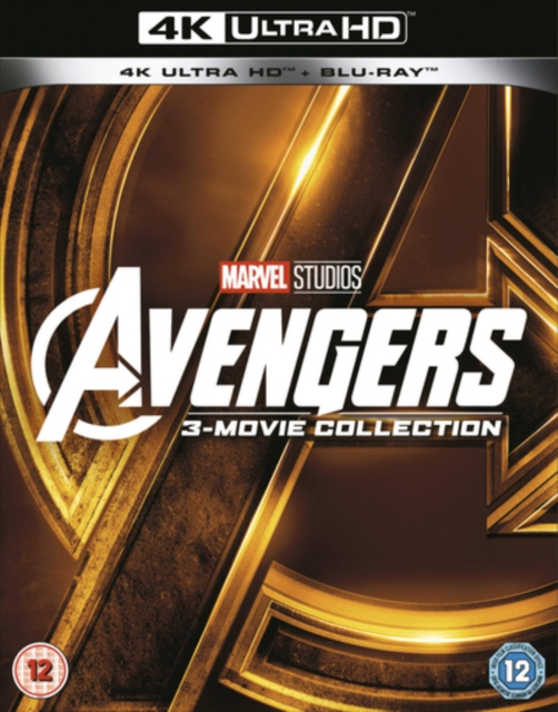 Avengers: 3-Movie Collection (UK-import) (4K Ultra HD + Blu-ray)