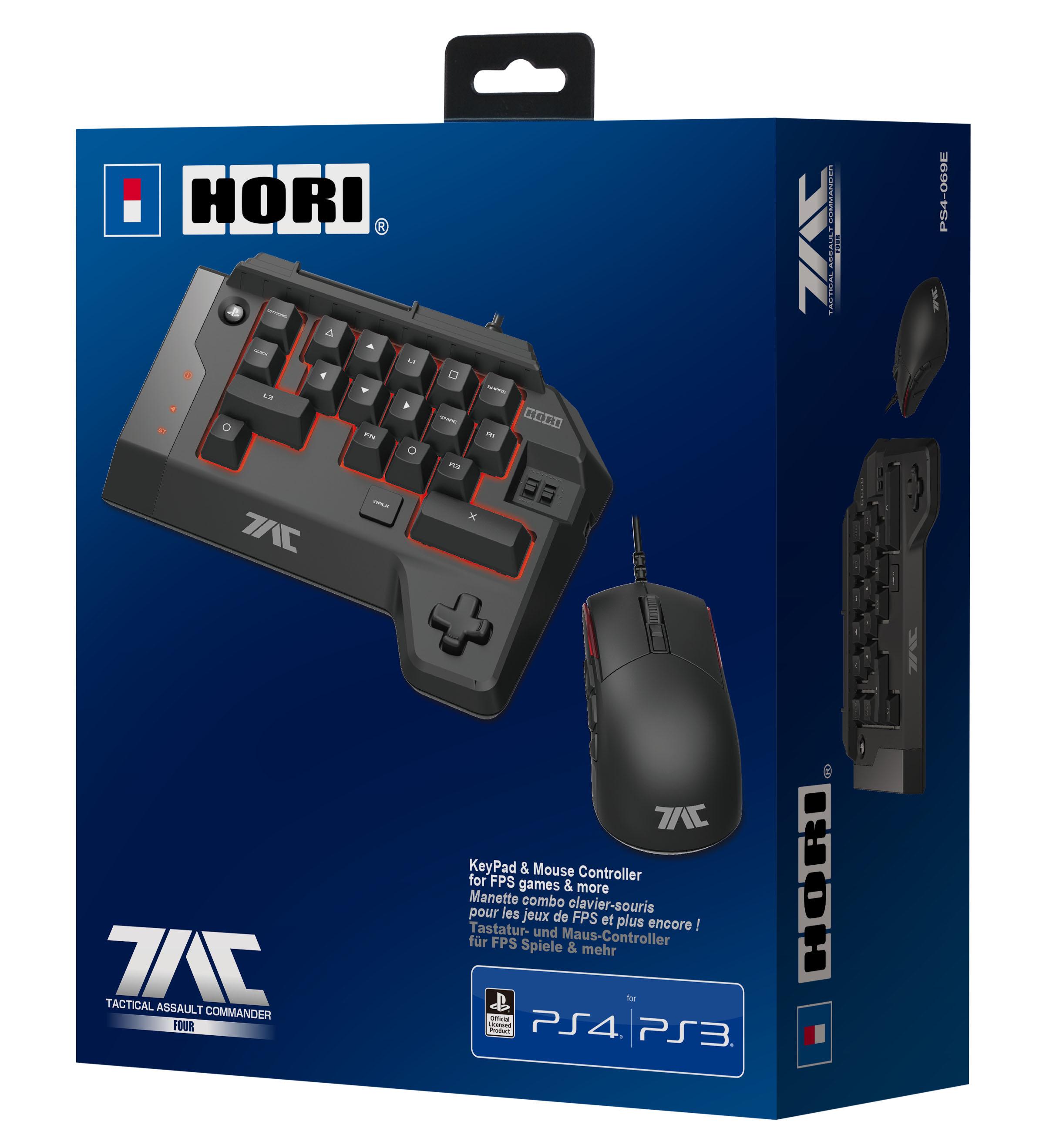 Hori T.A.C.4 FPS kontroller til PS4 og PS3 PlayStation