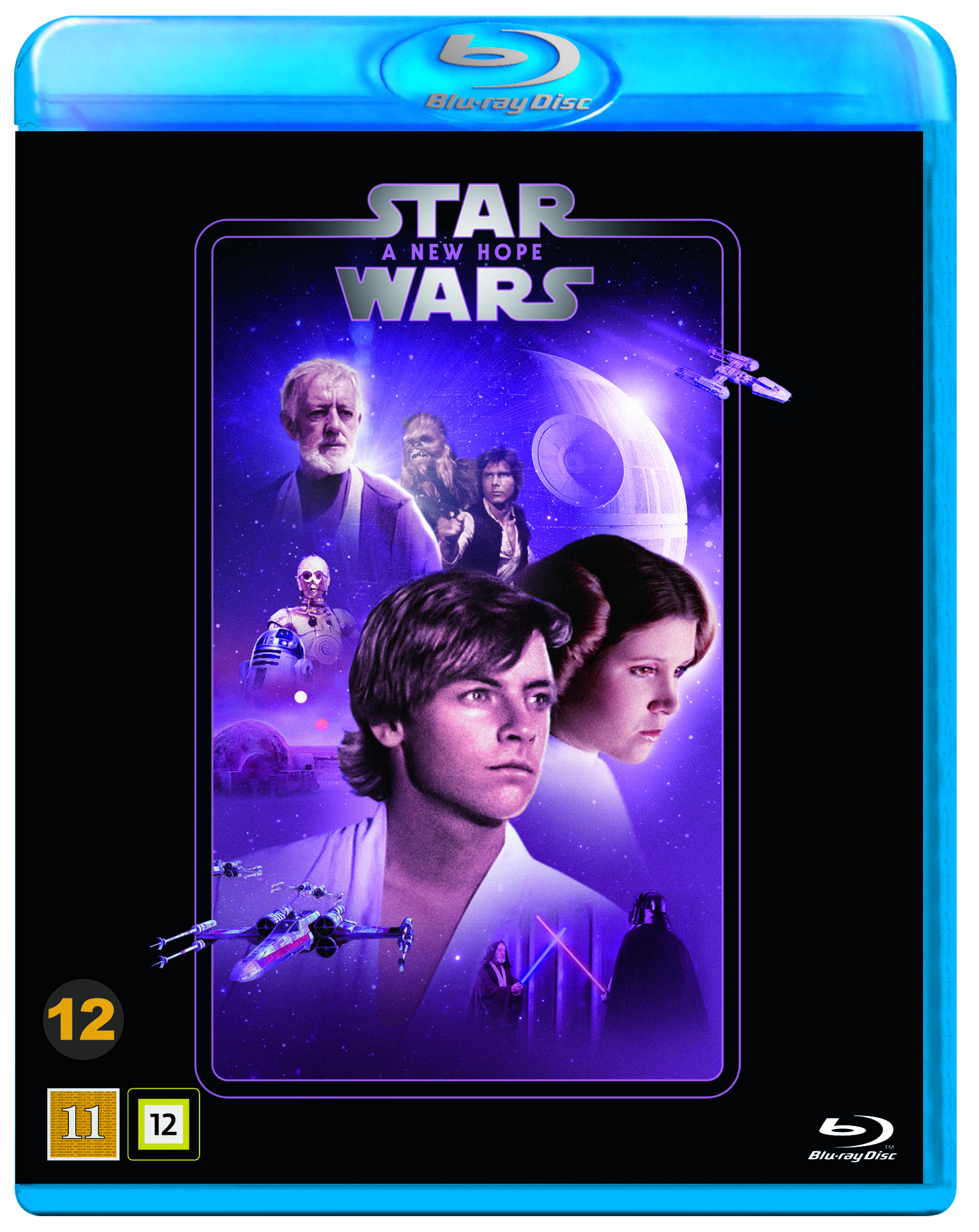 Star Wars Episode Iv A New Hope Stjernekrigen Blu Ray