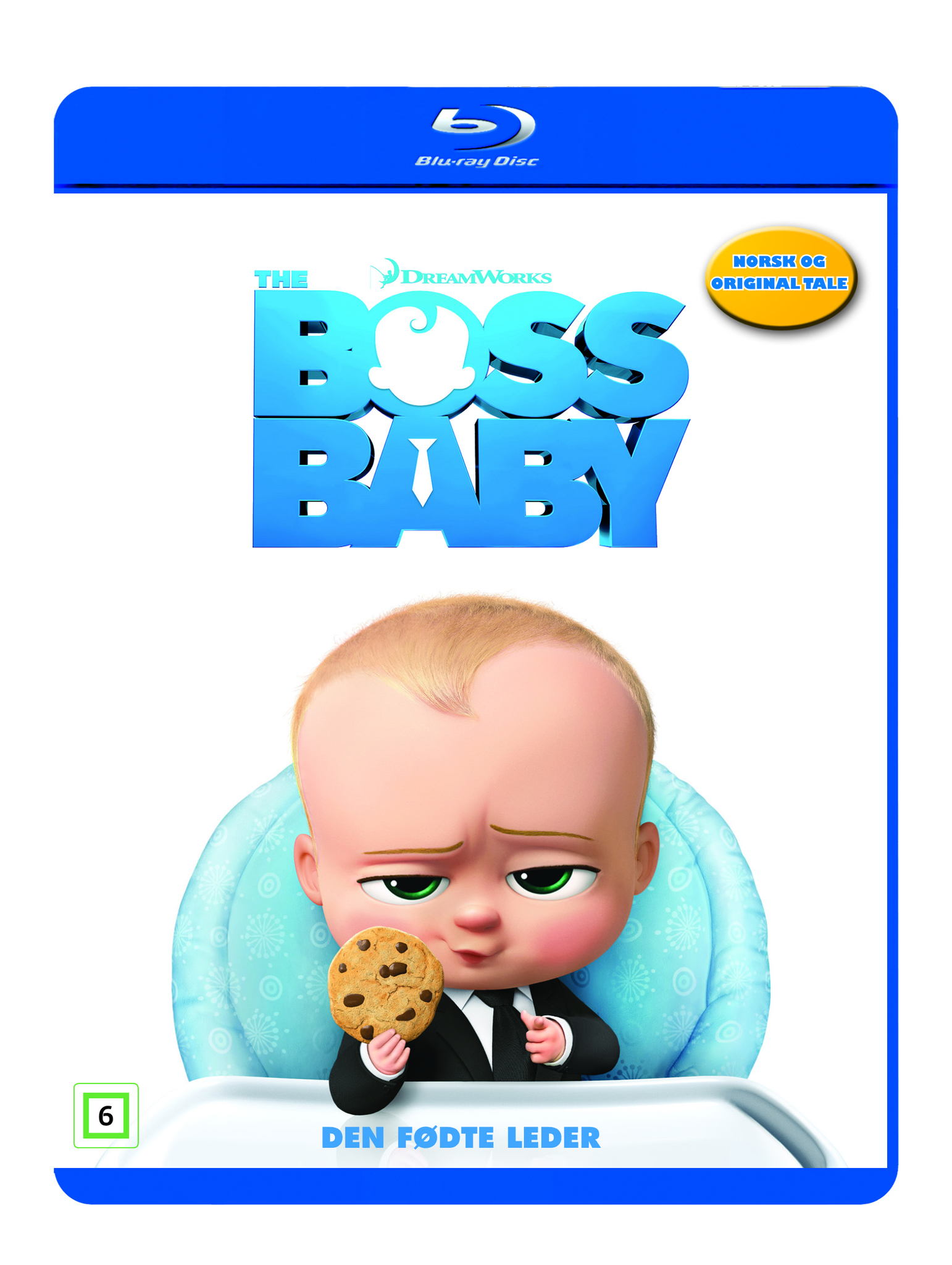 5fd2c206914dd The Boss Baby (BLU-RAY)