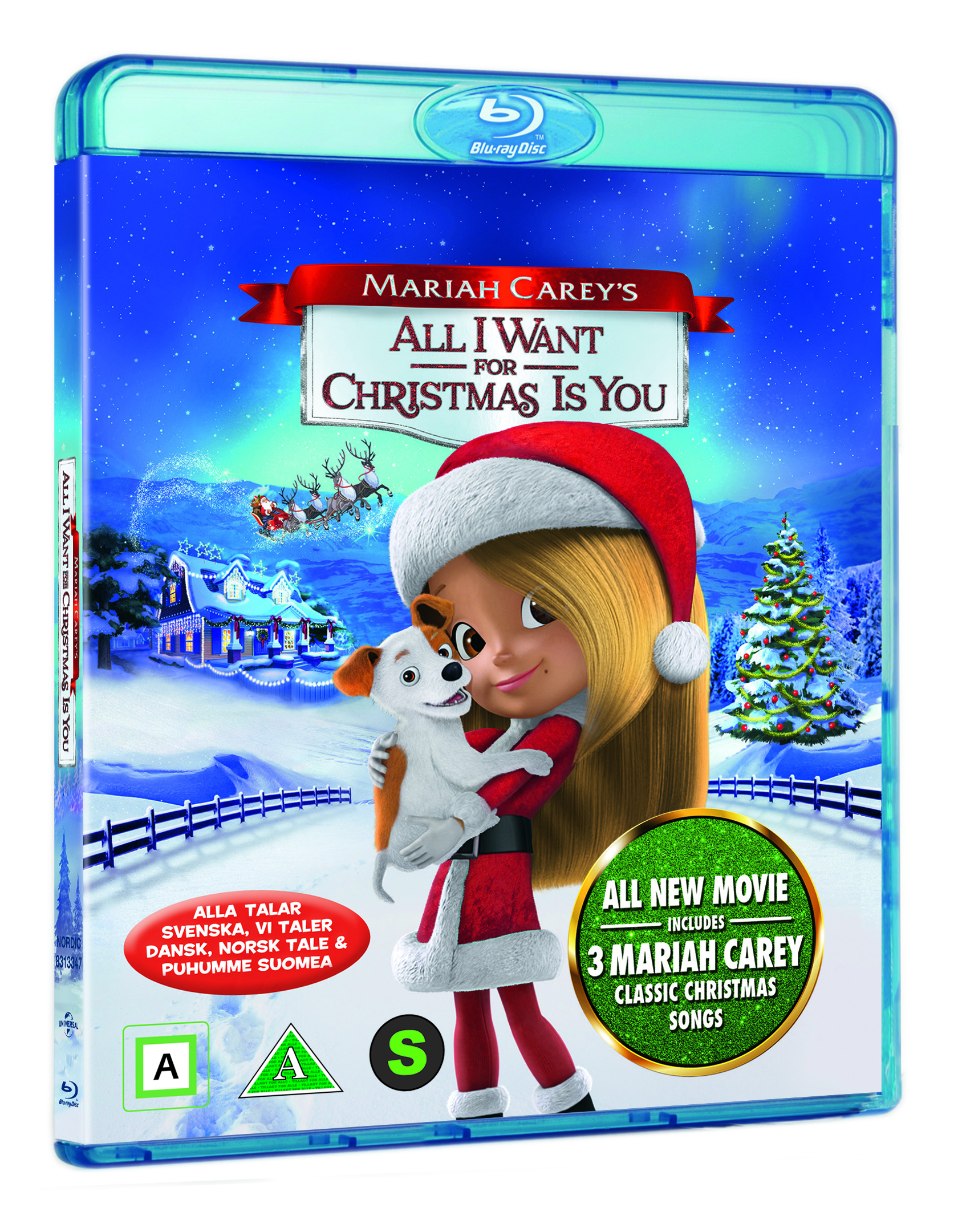 All I Want For Christmas Is You Movie.Mariah Carey S All I Want For Christmas Is You Blu Ray