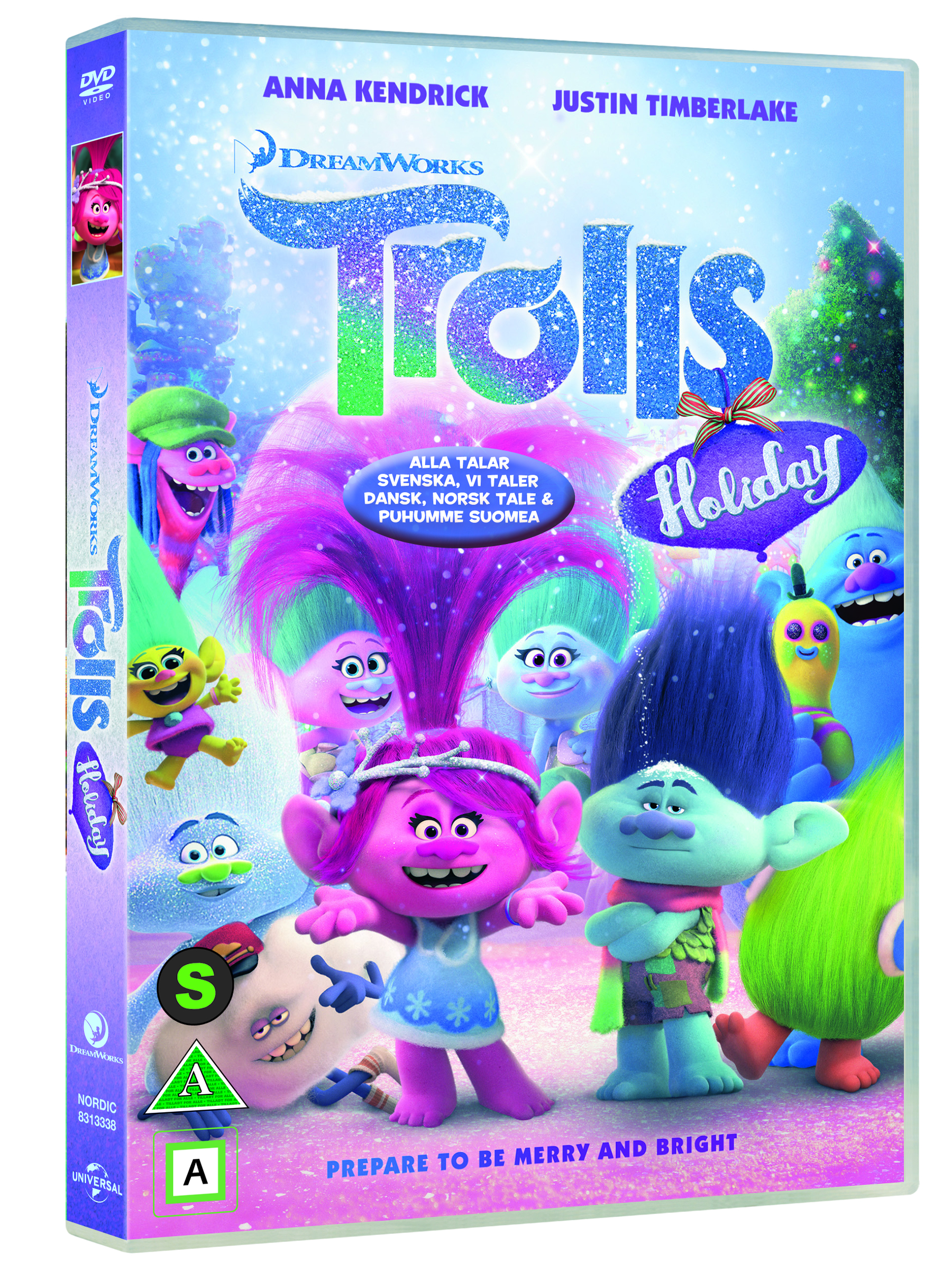 Trolls Holiday Special DVD
