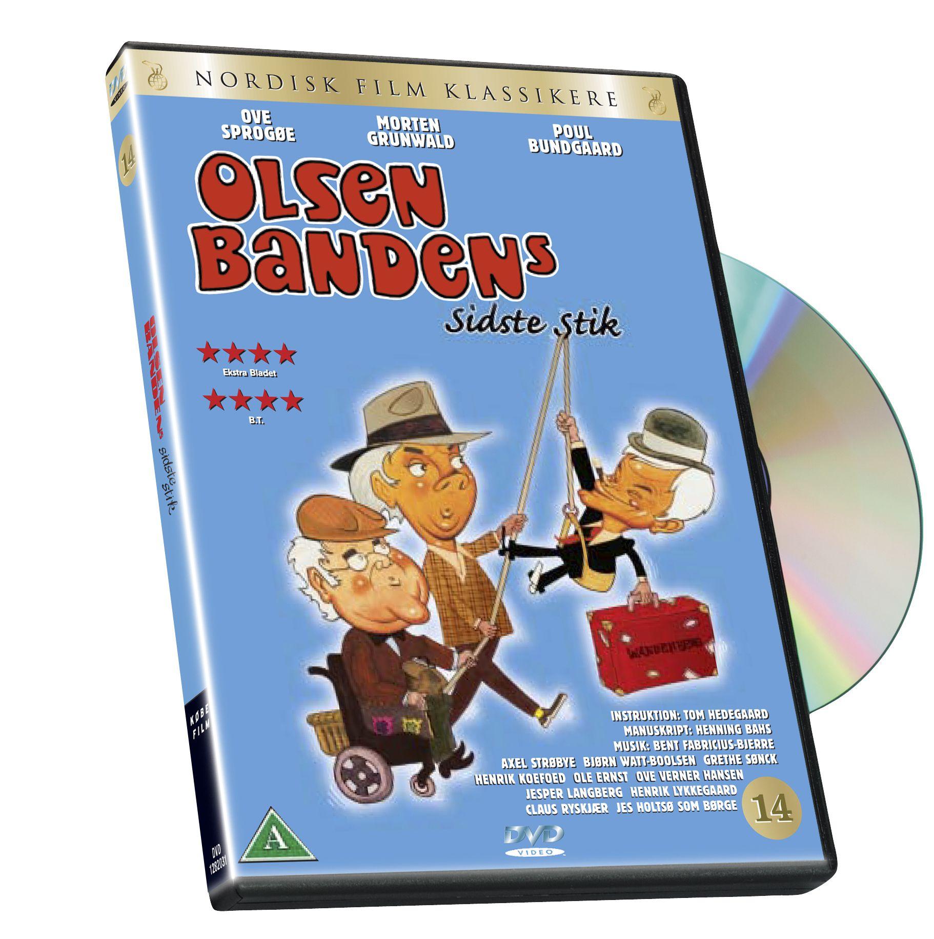 Olsen Banden 14 Sidste Stik Dk Import