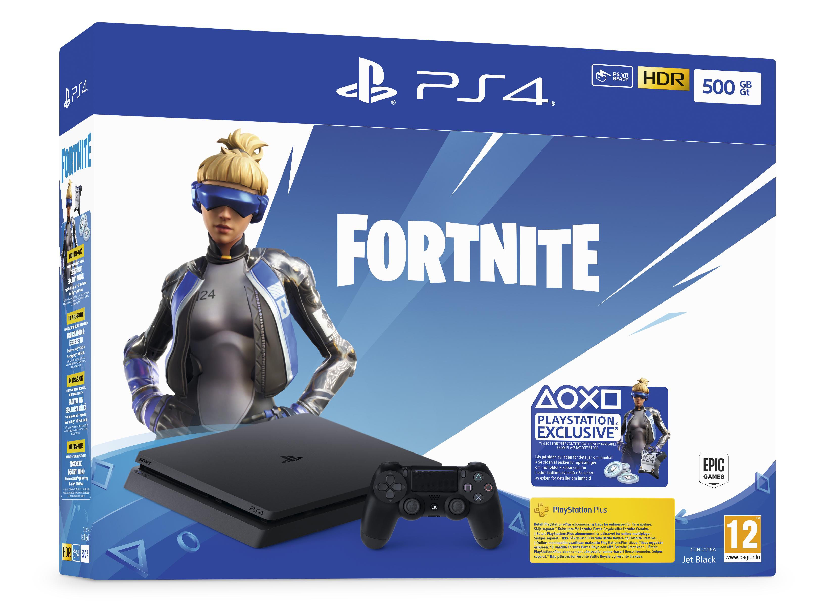 Playstation 4 500GB Slim Fortnite