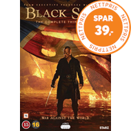 Produktbilde for Black Sails - Sesong 3 (DVD)