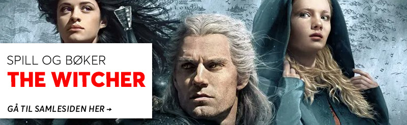 The Witcher samleside - les mer her