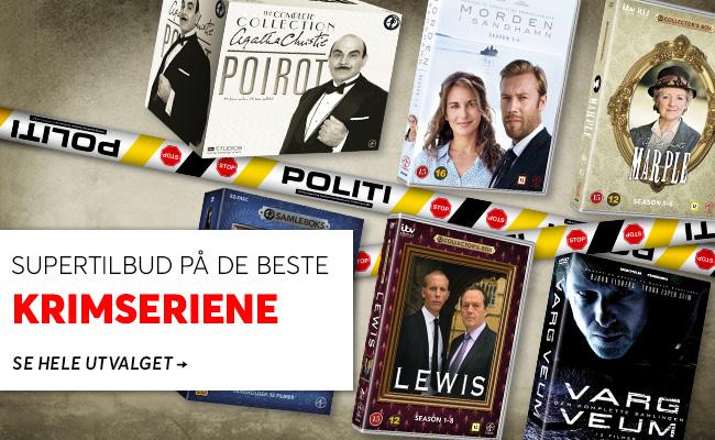 Crime Time - stort utvalg krimserier på DVD og Blu-ray