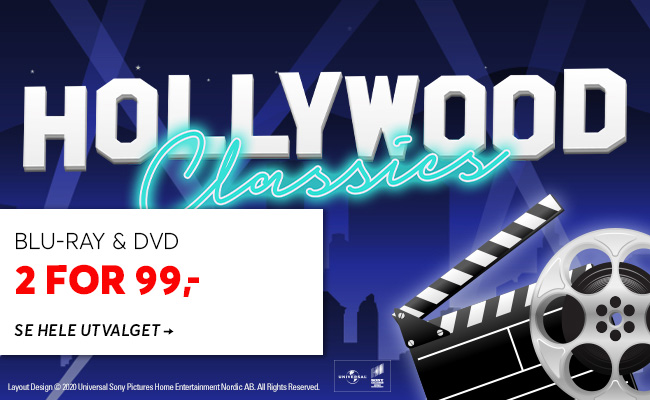 Hollywood Classics 2 for 99