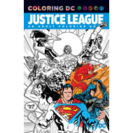 Justice League An Adult Coloring Book (BOK)