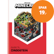 Produktbilde for Minecraft - guide til: Rødstein (BOK)