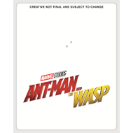 Ant-Man 2 - Ant-Man And The Wasp - Ltd. Steelbook Ed. (BLU-RAY)