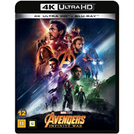 Avengers 3 - Infinity War (4K Ultra HD + Blu-ray)