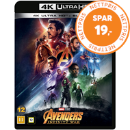Produktbilde for Avengers 3 - Infinity War (4K Ultra HD + Blu-ray)