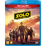 Solo: A Star Wars Story (Blu-ray 3D + Blu-ray)