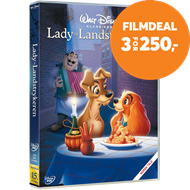 Produktbilde for Lady Og Landstrykeren (DVD)