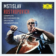 Mstislav Rostropovich - Complete Recordings on Deutsche Grammophon (37CD)