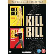 Kill Bill 1 & 2 (UK-import) (DVD)