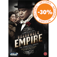 Produktbilde for Boardwalk Empire - Den Komplette Serien (DVD)