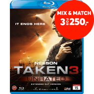Produktbilde for Taken 3 (BLU-RAY)