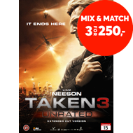 Produktbilde for Taken 3 (DVD)