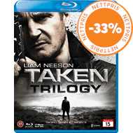 Produktbilde for Taken Trilogy (DK-import) (BLU-RAY)