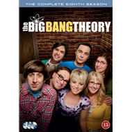 The Big Bang Theory - Sesong 8 (DVD)