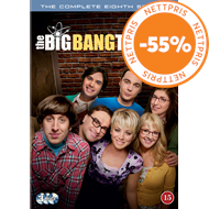 Produktbilde for The Big Bang Theory - Sesong 8 (DVD)