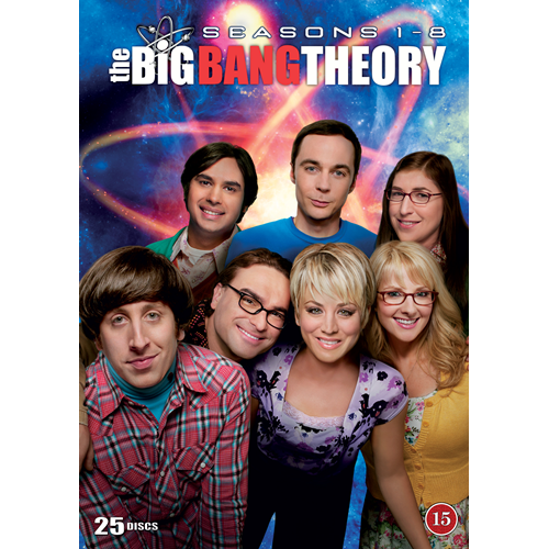 The Big Bang Theory - Sesong 1 - 8 (DVD)