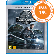 Produktbilde for Jurassic World (DK-import) (Blu-ray 3D + Blu-ray)