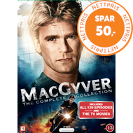 Produktbilde for MacGyver - The Complete Collection (DVD)