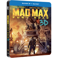 Mad Max: Fury Road - Limited Steelbook Edition (Blu-ray 3D + Blu-ray)