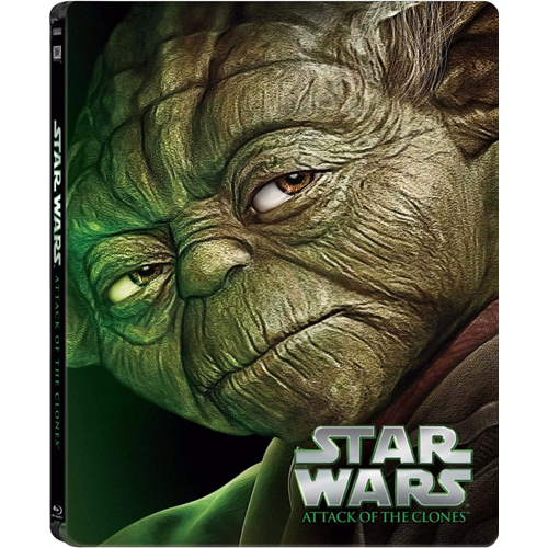 Star Wars - Episode 2 - Klonene Angriper - Limited Steelbook Edition (BLU-RAY)