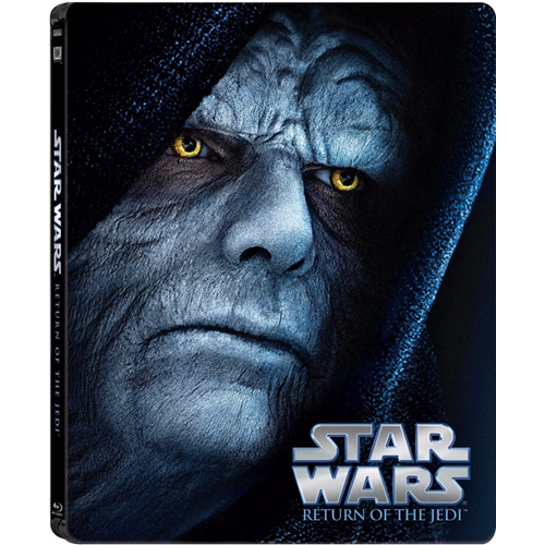 Star Wars - Episode 6 - Jediridderen Vender Tilbake - Limited Steelbook Edition (DK-import) (BLU-RAY)