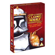 Star Wars - The Clone Wars - Sesong 1 (UK-import) (DVD)