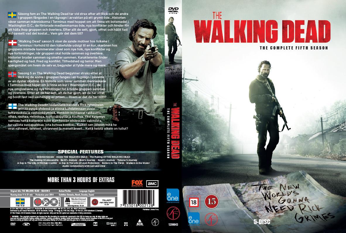 5 Staffel The Walking Dead Dvd