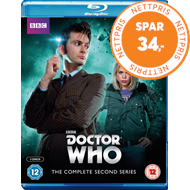 Doctor Who - Sesong 2 (UK-import) (BLU-RAY)