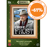 Produktbilde for A Touch Of Frost - Box 1 (DVD)