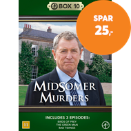 Produktbilde for Midsomer Murders - Box 10 (DVD)