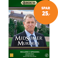 Produktbilde for Midsomer Murders - Box 14 (DVD)
