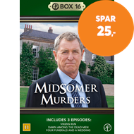 Produktbilde for Midsomer Murders - Box 16 (DVD)