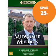 Produktbilde for Midsomer Murders - Box 2 (DVD)